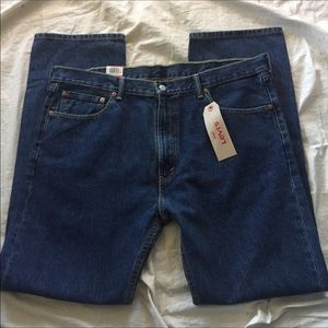 Levi's 505 42/34 men's jeans new with tags